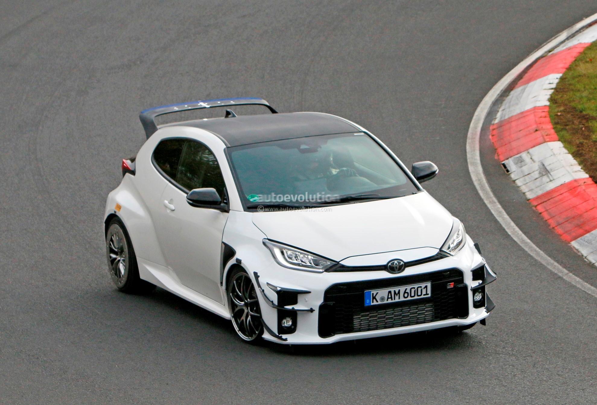 Hotter 2021 Toyota GRMN Yaris Caught Testing at the Nurburgring -  autoevolution