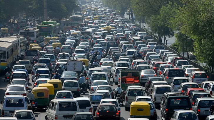 The biggest traffic jam in the world