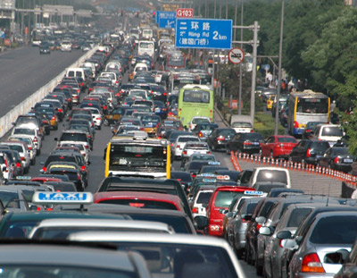 The Longest Traffic Jam in History – 12 Days, 62-Mile-Long