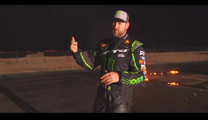 The Making of Vaughn Gittin Jr.'s Fire Drift [Video]