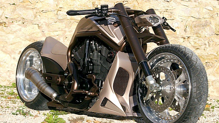 The Meanest Harley V-Rod of Them All [Photo Gallery]