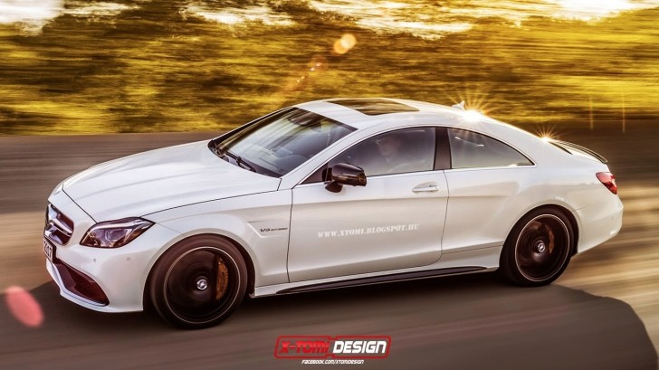 The Mercedes Benz Cls 63 Amg Two Door Coupe That Will