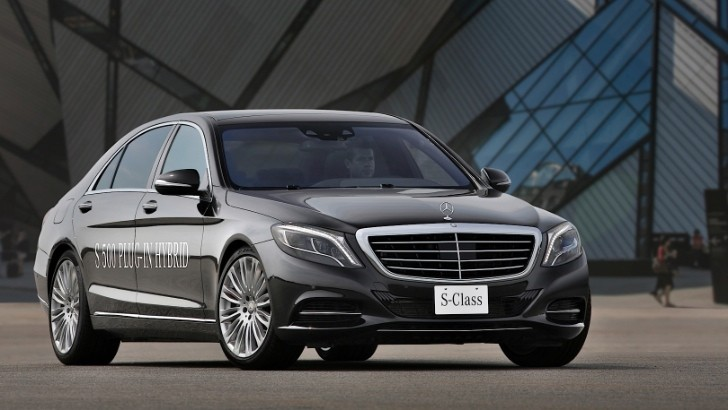 The Mercedes-Benz S 500 Plug-in Hybrid is More Frugal Than a smart [Photo Gallery]