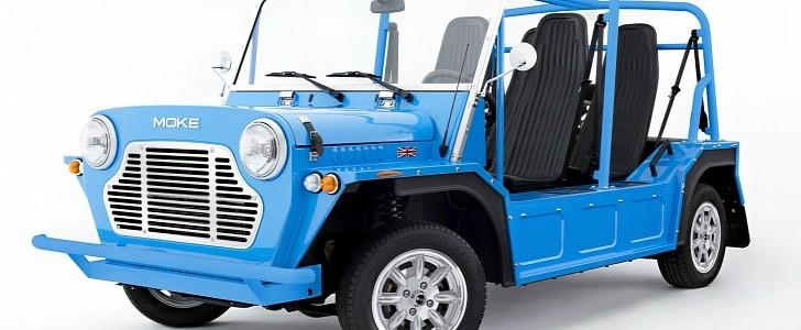 The Mini Moke Makes an Eye-Popping, Limited-Edition Comeback - autoevolution