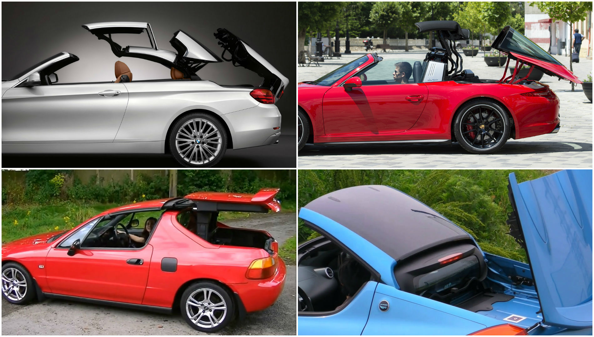 The Most Interesting Convertible Roof Mechanisms On Modern Cars Autoevolution