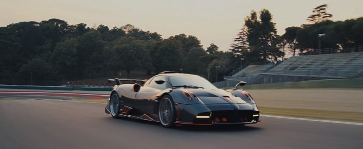 The Most Powerful Pagani Ever: 2020 Pagani Huayra Imola Packs 827 PS - autoevolution