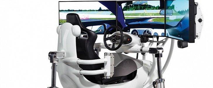 the most realistic racing simulator costs audi r8 money autoevolution. Black Bedroom Furniture Sets. Home Design Ideas