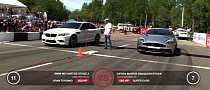 The New Aston Martin Vanquish Drag Races BMW M5, Nissan GT-R [Video]