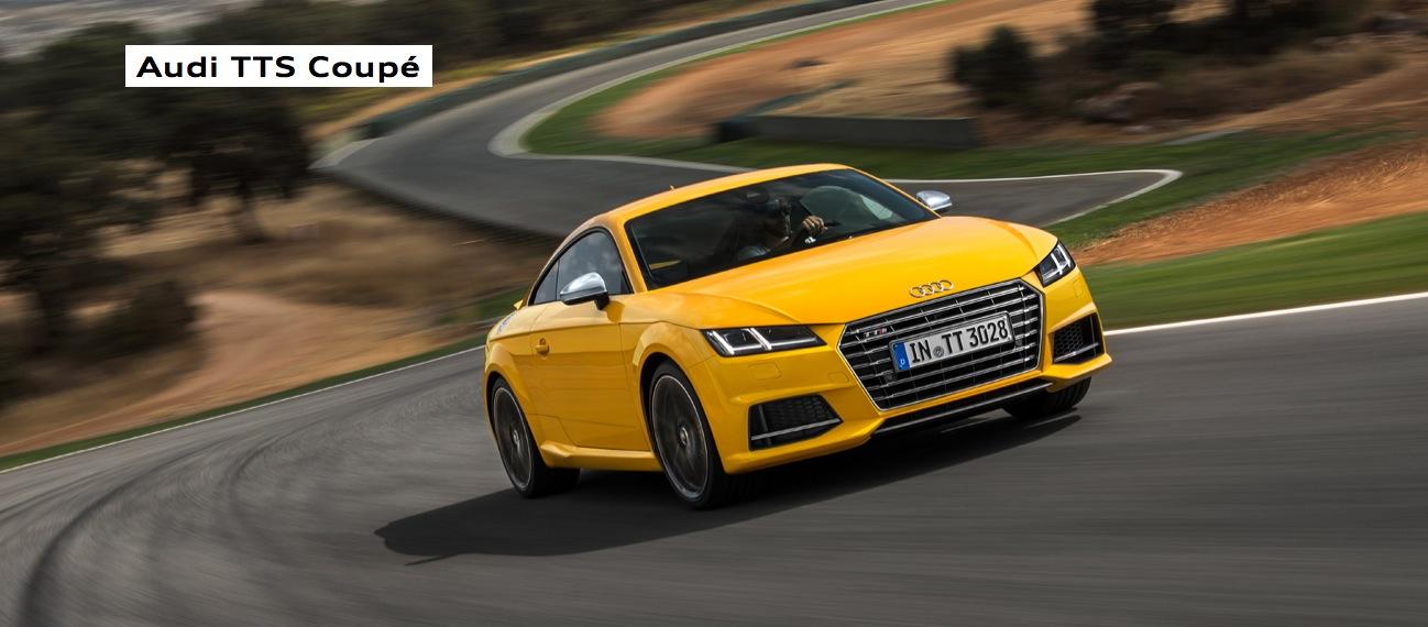 New Audi TT & TTS Coupe Photos Show Vegas Yellow and Tango ...