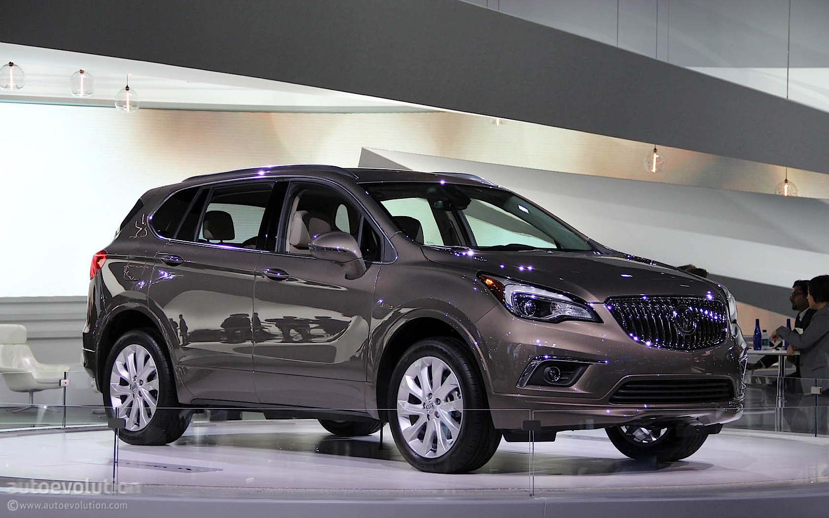 2016 buick envision lands at the detroit auto show autoevolution. Black Bedroom Furniture Sets. Home Design Ideas