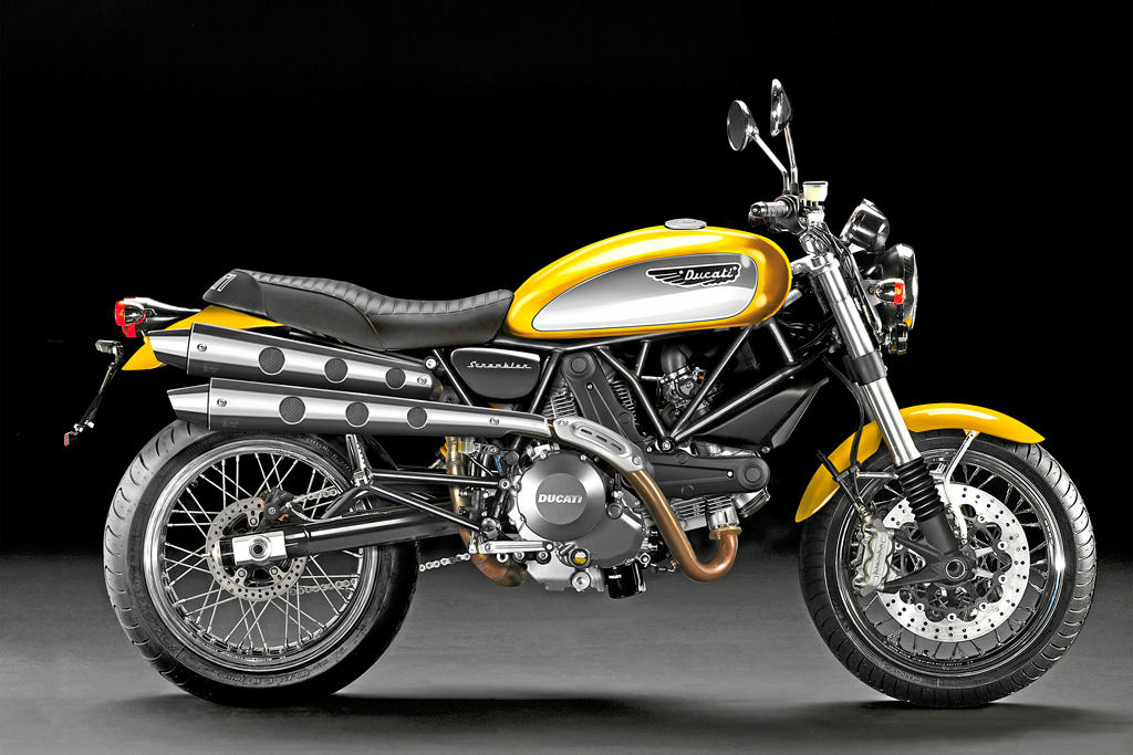 the new ducati scrambler closer to the final shape autoevolution. Black Bedroom Furniture Sets. Home Design Ideas