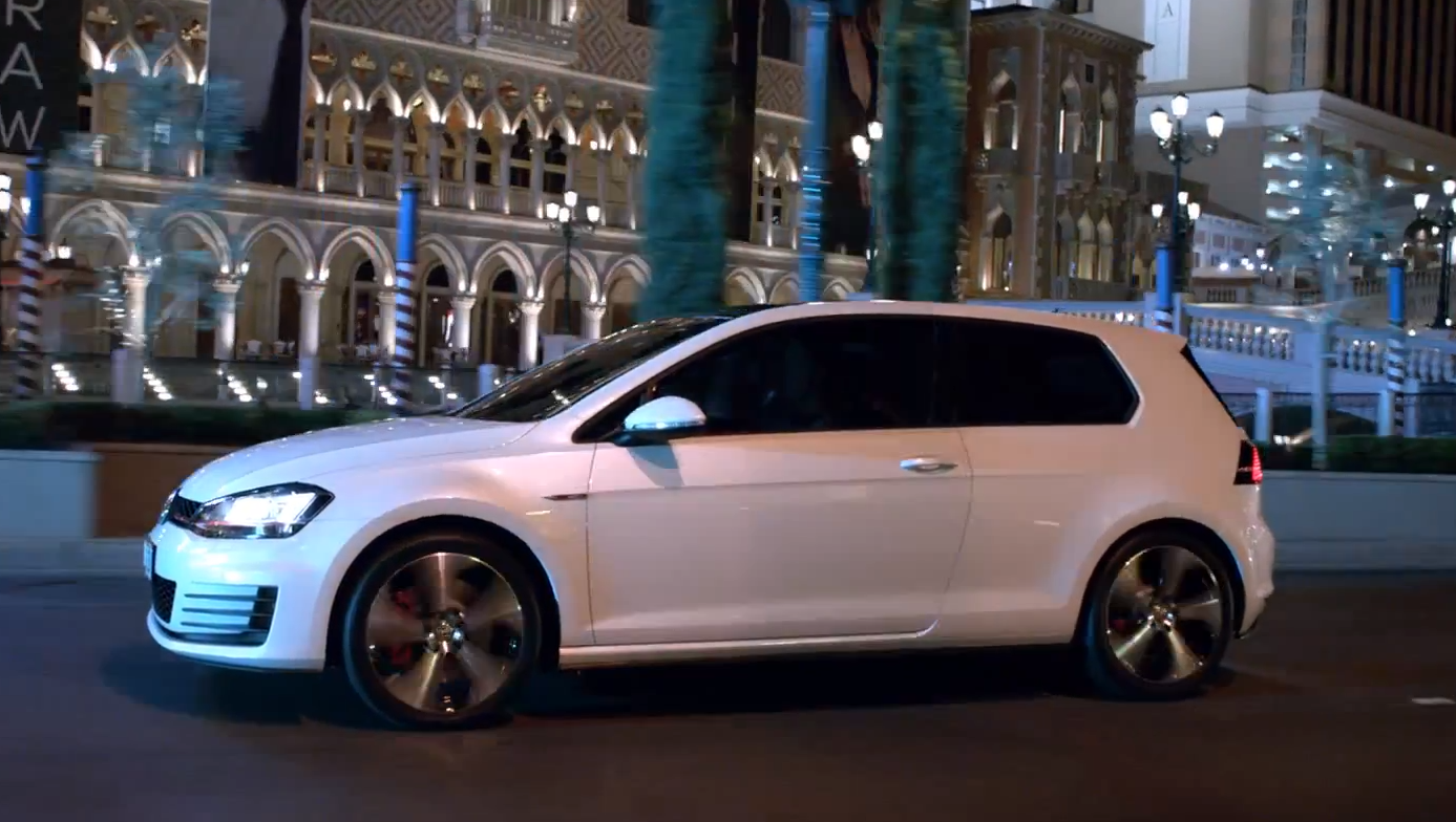 The New Golf Gti Gets Its First Commercial My Way