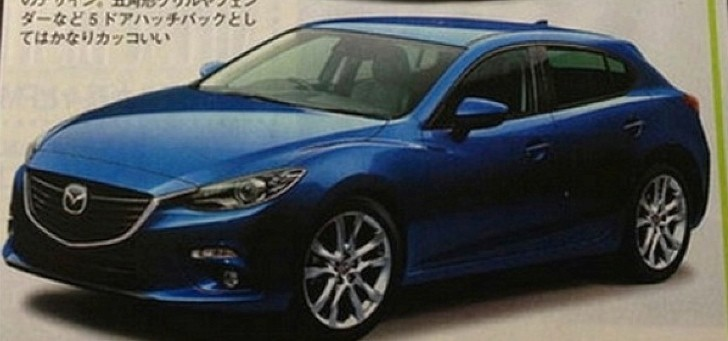 The New Mazda3: This Could Be It, Leaked by a Japanese Mag!