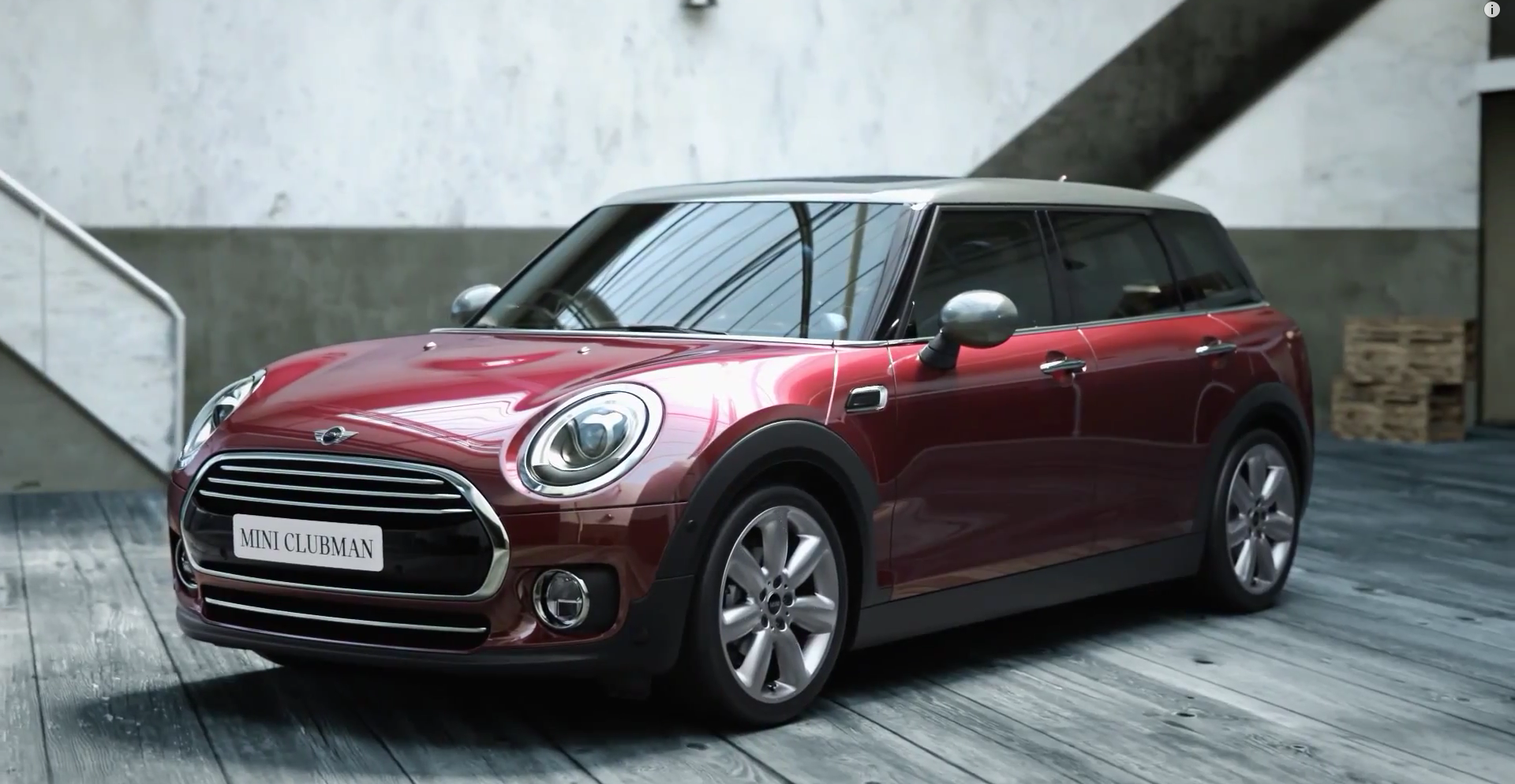 the new mini clubman stars in first promotional clip autoevolution. Black Bedroom Furniture Sets. Home Design Ideas