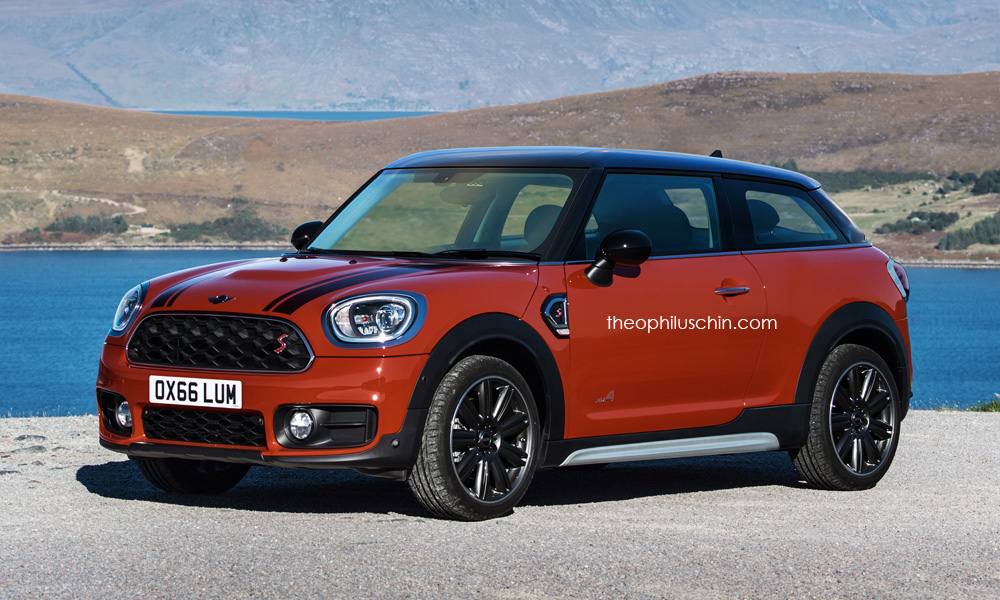 The New Mini Paceman Would Look Like This May It Rest In Peace