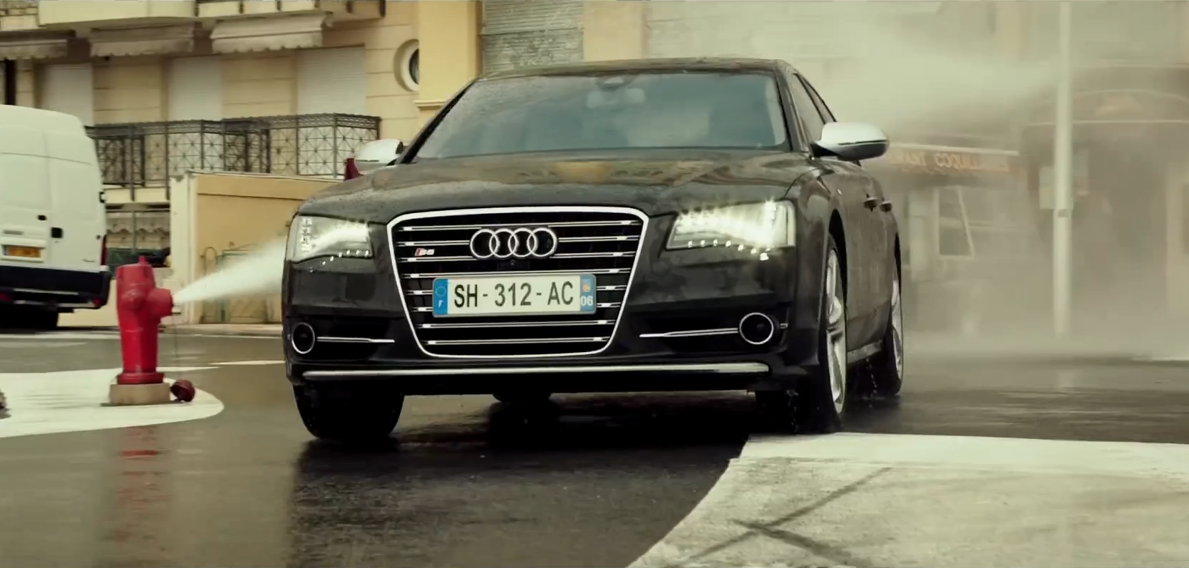 the new transporter refueled trailer looks like an audi s8 commercial autoevolution. Black Bedroom Furniture Sets. Home Design Ideas