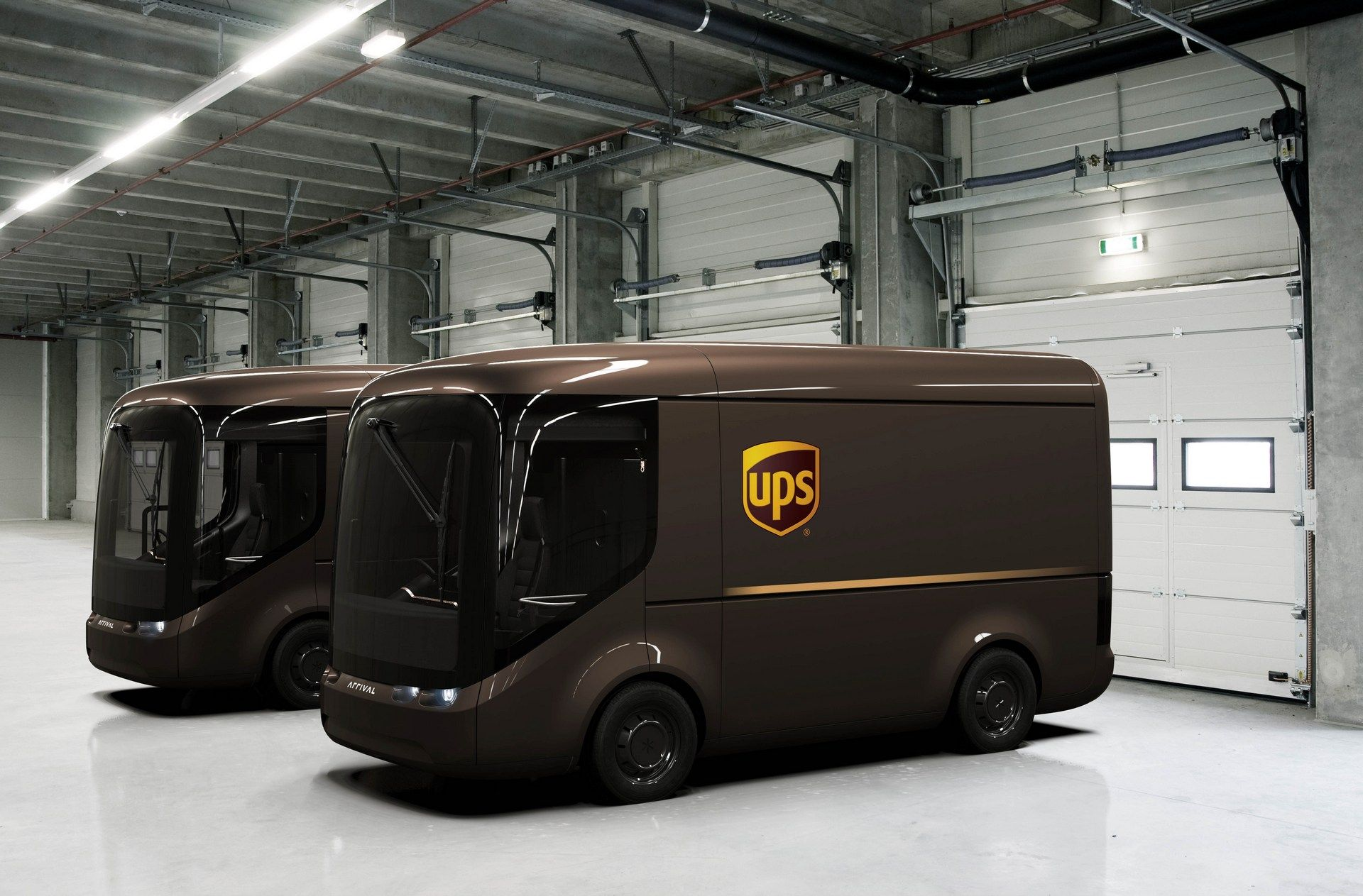 Paris & London Will Trial Electric UPS Delivery Vans