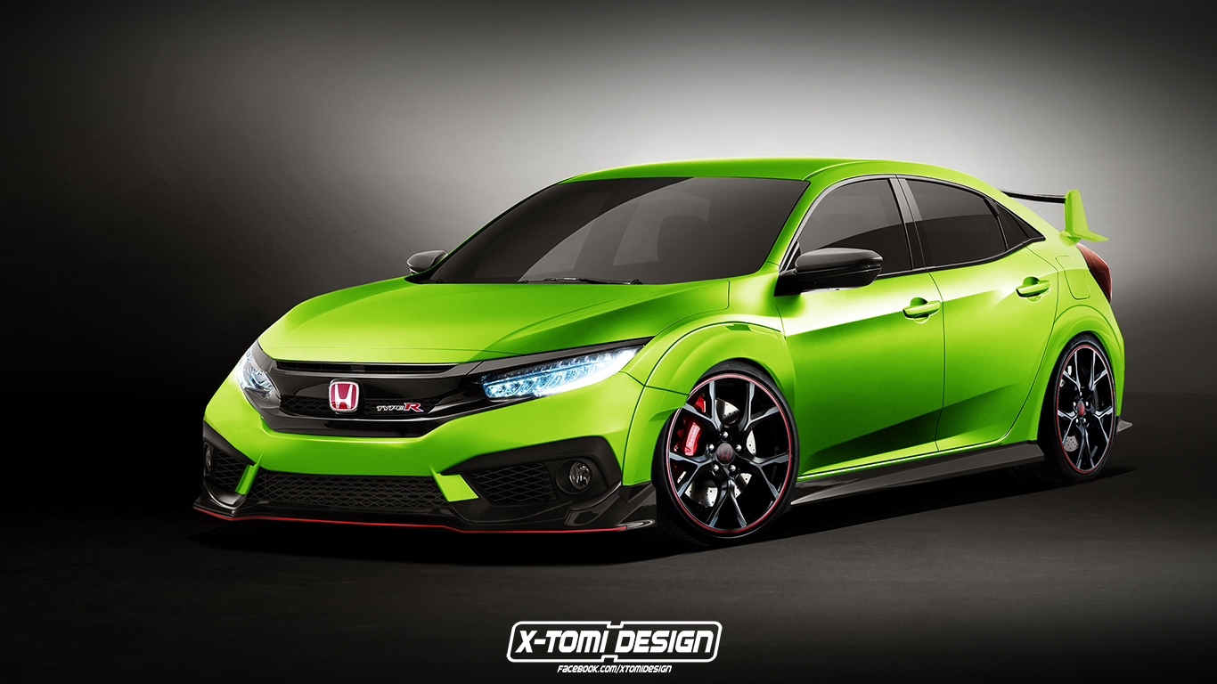 The Next Honda Civic Type R Gets Rendered Based On Geneva Concept