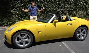 The Pontiac Solstice GXP Is Better Than a Mazda Miata, Doug DeMuro Says