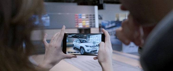 photo of The Power of Tech: Android Phones Will Use AR to Bring a Car in Your Driveway image