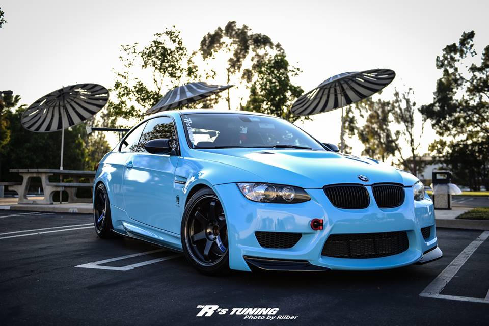 The R S Tuning Did It Again Baby Blue Bmw E92 M3 Autoevolution