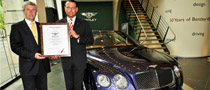 The Rich Man who Recycled: Bentley Touts 85% Recyclability