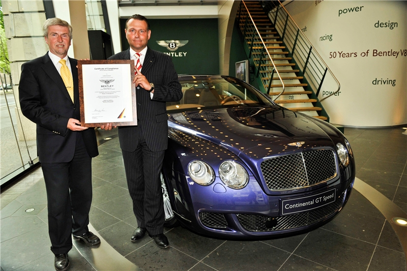 The Rich Man Who Recycled Bentley Touts 85 Recyclability