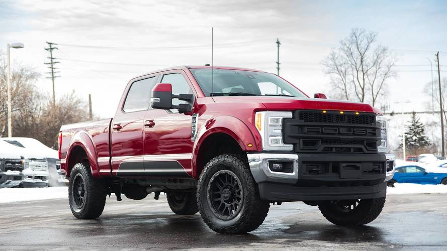 The Roush F 250 Is Not Your Average Ford Super Duty Pickup