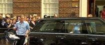 The Royal Baby Travels in a Range Rover [Video]