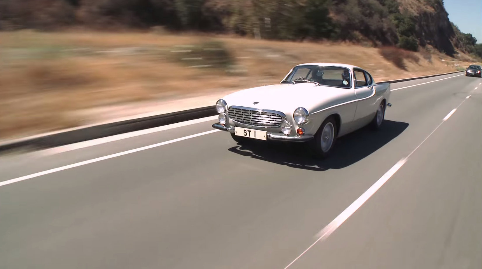 The Saint's Volvo P1800 Gets Driven by Jay Leno - autoevolution
