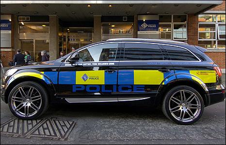 The Scottish Police Uses Seized Audi Q7 Autoevolution
