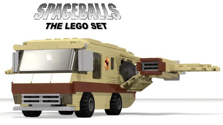 The Spaceballs Winnebago LEGO Idea Must go Into Production