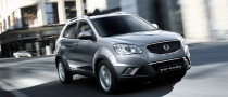 The SsangYong Korando Crossover Goes on Sale in 2011