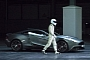 The Stig Drives the New Aston Martin Vanquish for Top Gear Live