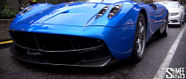 The Supercars of London: Pagani Huayra from Qatar [Video]
