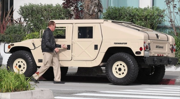 Image result for schwarzenegger hummer