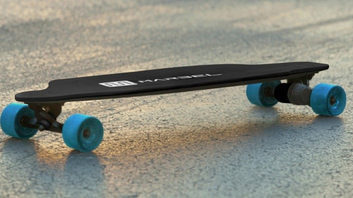The Tesla of The Electric Skateboards is Controlled With an App  autoevolution