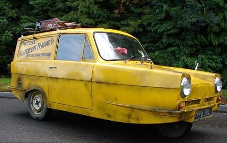 The Trotters' Reliant Regal Van Up for Sale - autoevolution