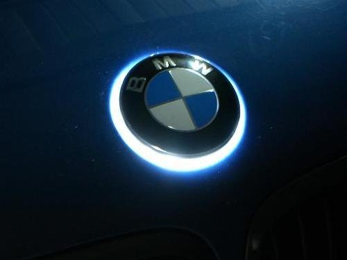 The Ultimate Aftermarket Part White Led Bmw Badge