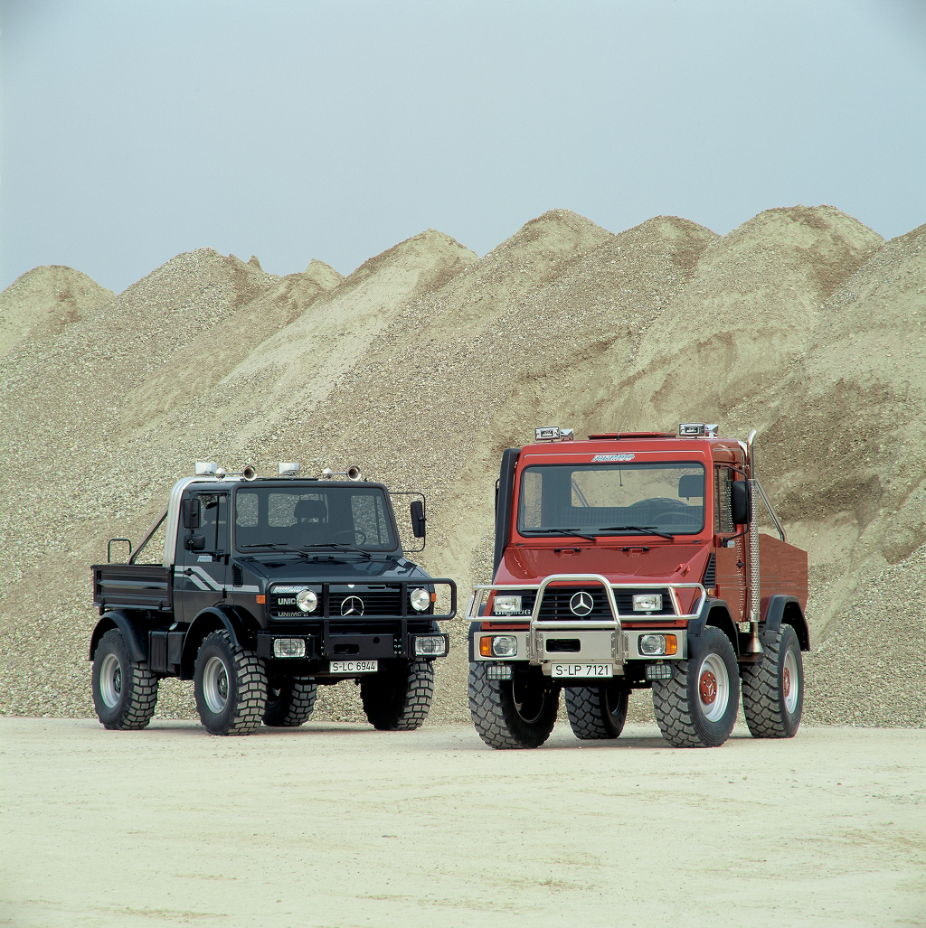 The Unimog From Agricultural Drop Top To Tuner Ride