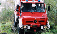 Unimog fire fighter