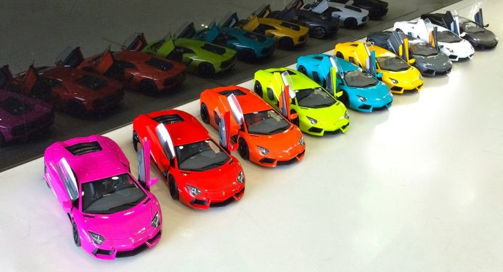 The United Colors Of The Lamborghini Aventador Autoevolution