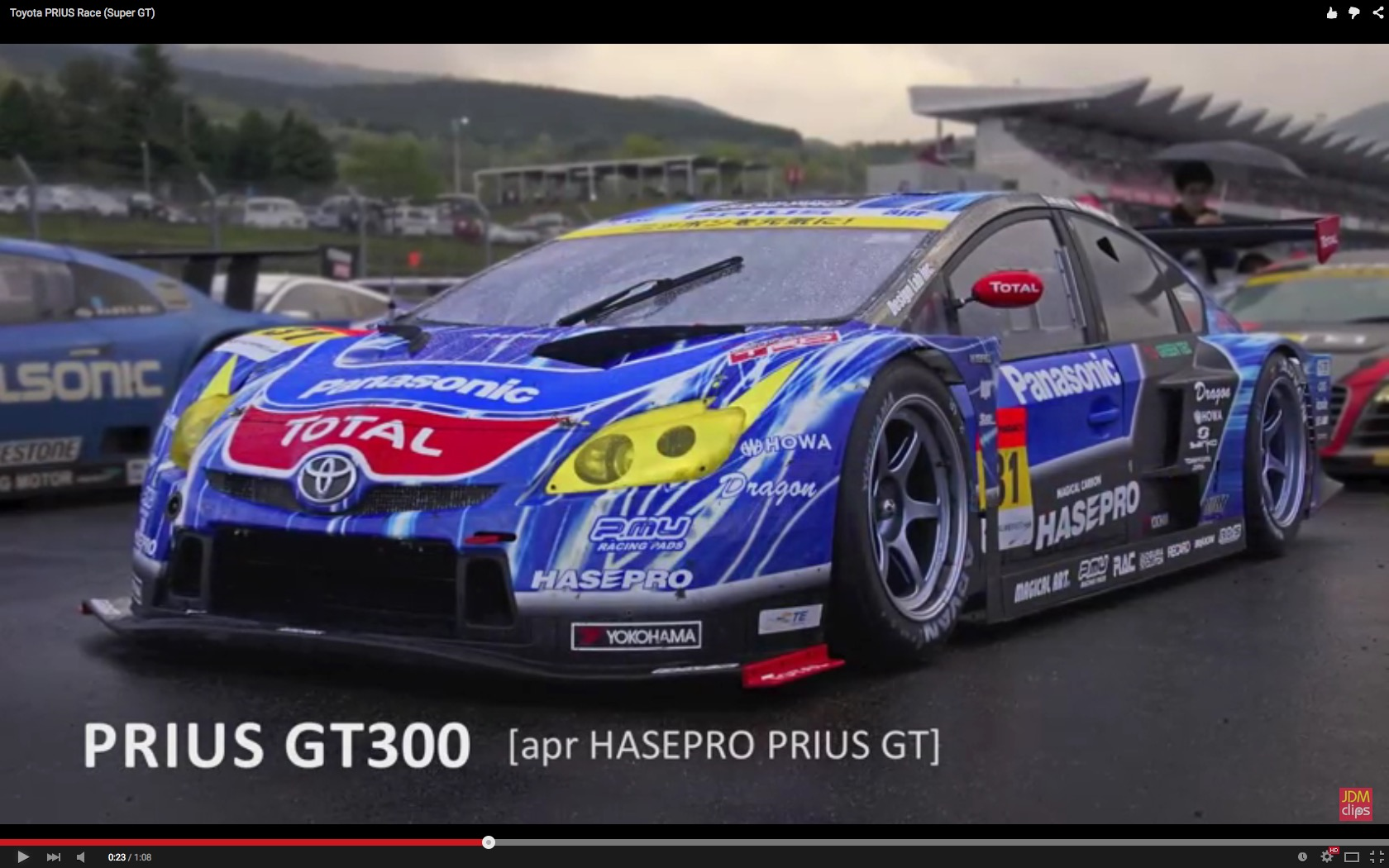 The Usain Bolt of All Toyota Prius Cars is Still Hybrid, Raced in ...