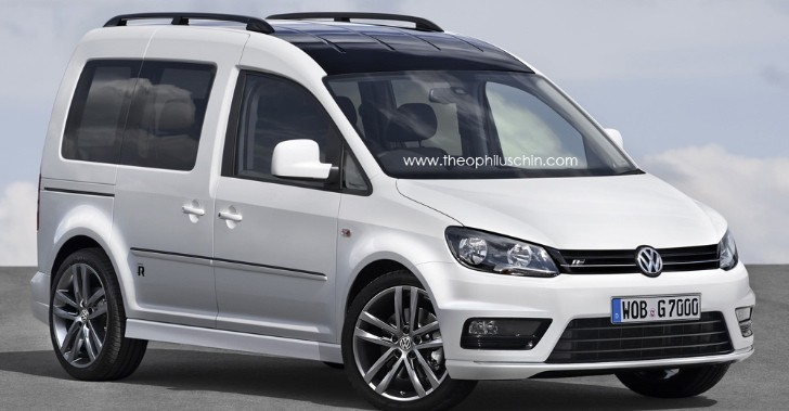 The Volkswagen Caddy R Is a Crazy Idea