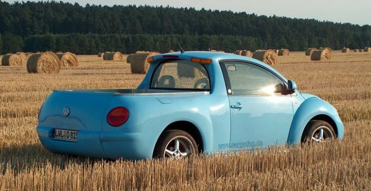 The VW Beetle Pickup Exists [Photo Gallery]