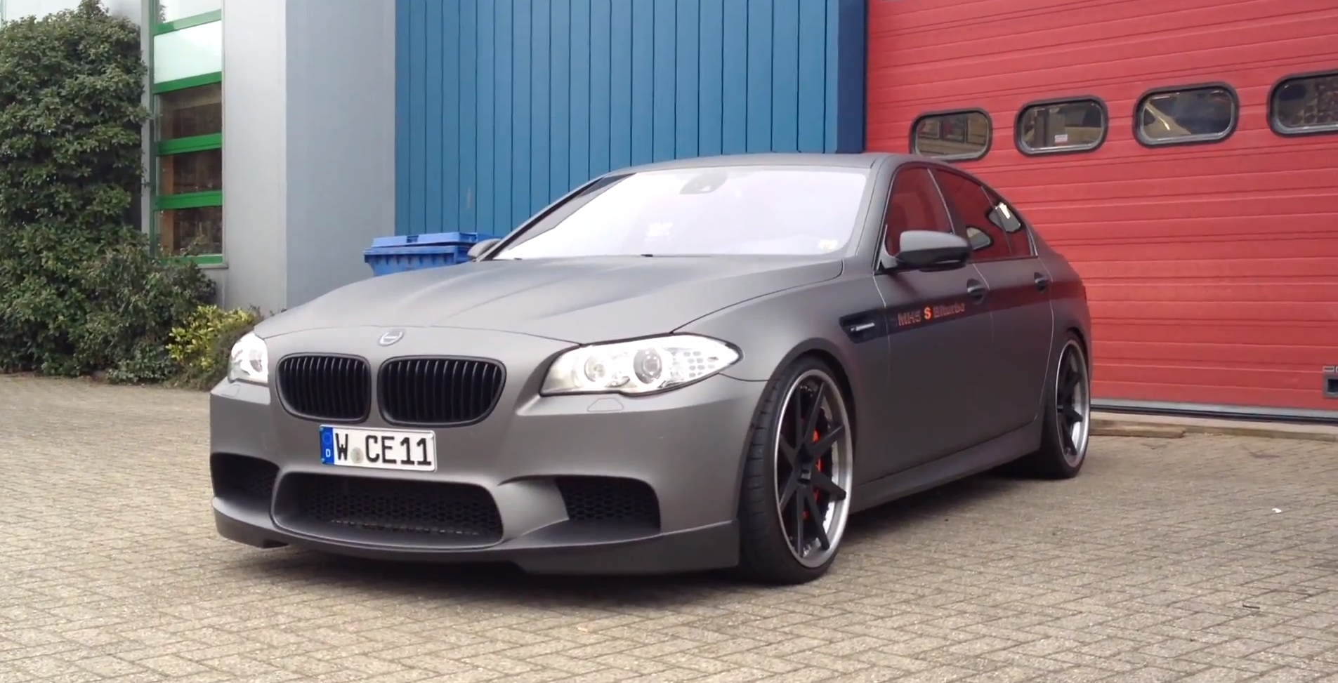 BMW 5 Series how fast is the bmw m5 World's Fastest BMW F10 M5: Manhart Racing's MH5 - autoevolution