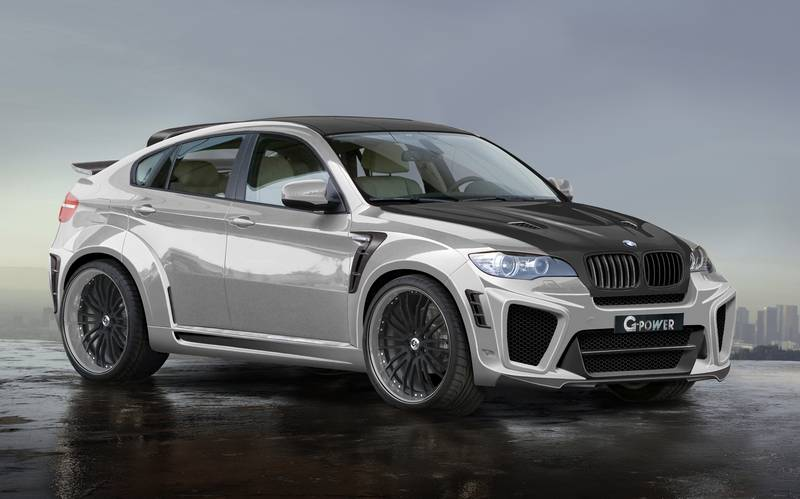 The World S Fastest Suv G Power Bmw X6 Typhoon Rs V10 Autoevolution