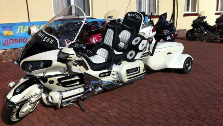 Here's a proof of how much can Honda Gold Wing change and even though ...