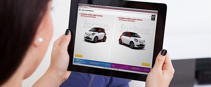 There Is Now a Smarter Way of Ordering a smart Car