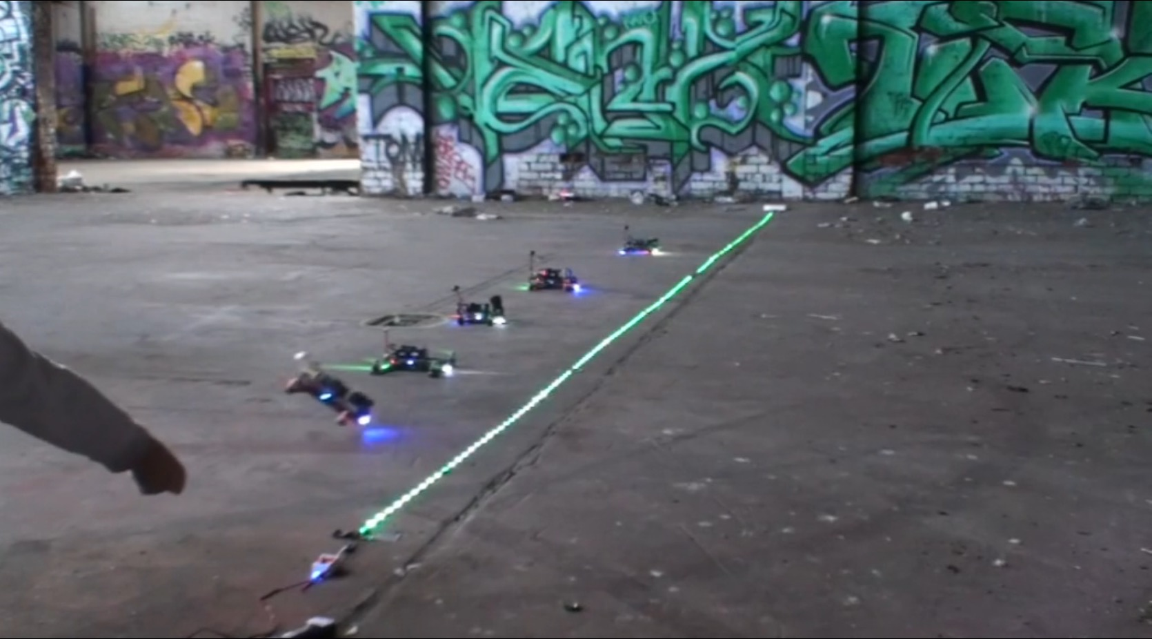 Theres An Underground First Person View Drone Race In Australia